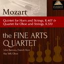 モーツァルト:ホルンと弦楽のための五重奏曲変ホ長調 K.407/オーボエと弦楽のための四重奏曲ヘ長調 K.370/Fine Arts Quartet / John Barrows, French Horn / Ray Still, Oboe