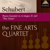 シューベルト:五重奏曲 イ長調 D.667 「ます」/Fine Arts Quartet