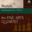 バルトーク:弦楽四重奏曲 第1番 & 第2番/The Fine Arts Quartet