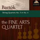 バルトーク:弦楽四重奏曲 第3番 & 第4番/The Fine Arts Quartet