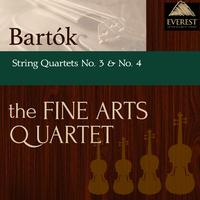 バルトーク:弦楽四重奏曲 第3番 & 第4番/Fine Arts Quartet