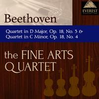 ベートーヴェン:弦楽四重奏曲 第3番 ニ長調 Op.18/弦楽四重奏曲 第4番 ハ短調 Op.18/Fine Arts Quartet