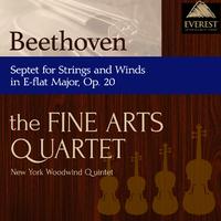 ベートーヴェン:七重奏曲 変ホ長調 Op.20/Members of the Fine Arts Quartet & the New York Woodwind Quintet