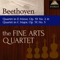 ベートーヴェン:弦楽四重奏曲 ホ長調 第2番 op.59, 弦楽四重奏曲 ハ長調 第3番 op.59/Fine Arts Quartet
