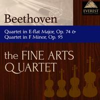 ベートーヴェン:弦楽四重奏曲 第10番 変ホ長調 op.74, 弦楽四重奏曲 第11番 ヘ短調 op.95/Fine Arts Quartet