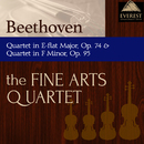 ベートーヴェン:弦楽四重奏曲 第10番 変ホ長調 op.74, 弦楽四重奏曲 第11番 ヘ短調 op.95/The Fine Arts Quartet
