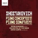 ショスタコーヴィチ:ピアノ協奏曲第1番と第2番/ピアノソナタ第1,2番/Peter Donohoe; Orchestra of the Swan; David Curtis