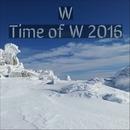 Time of W 2016/W