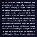 Backa tiden/Joel Alme