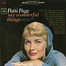 Say Wonderful Things/Patti Page