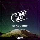 Spaceship/Comet Blue
