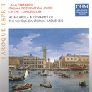 A La Ferrarese: Italian Instrumental Music Of The 15th Century/Schola Cantorum Basiliensis
