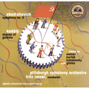 Shostakovich: Symphony No. 6; Kodály: Dances of Galanta; Weiner: Divertimento No. 1; Bartok: Hungarian Pictures; Kabalevsky: Colas Breugnon Overture; etc./Fritz, Reiner Pittsburgh Symphony Orchestra