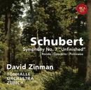 """Schubert: Symphony No. 7 """"Unfinished"""" & Rondo, Concerto & Polonaise for Violin and Orchestra/David Zinman"""