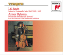 Bach: The Six Unaccompanied Cello Suites, BWV 1007-1012/Anner Bylsma
