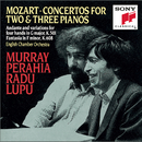 Mozart: Concertos for 2 & 3 Pianos; Andante and Variations for Piano Four Hands/Murray Perahia, Radu Lupu