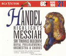 Händel: Messiah - Highlights/Sir Thomas Beecham