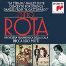 """Rota:  """"La Strada""""; Concerto per Archi; """"Il Gattopardo""""/Riccardo Muti, Orchestra Filarmonica della Scala, Giuseppe Bodanza, Stefano Pagliani"""