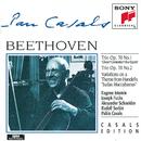 Beethoven: Piano Trios, Op. 70, Nos. 1 & 2;  Variations/Pablo Casals, Joseph Fuchs, Alexander Schneider, Rudolf Serkin, Eugene Istomin