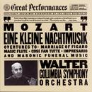 Mozart:  Eine Kleine Nachtmusik; Opera Overtures; Masonic Funeral Music/Bruno Walter