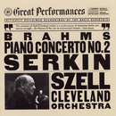 Brahms:  Concerto No. 2 in B-flat Major for Piano and Orchestra, Op. 83/Rudolf Serkin, Cleveland Orchestra, George Szell