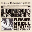 Beethoven:  Concerto No. 4 for Piano and Orchestra in G Major, Op. 58 and Mozart:  Concerto No. 25 for Piano and Orchestra in C Major, K. 503/Leon Fleisher, The Cleveland Orchestra, George Szell