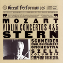 Mozart:  Violin Concertos Nos. 4 & 5/Isaac Stern, English Chamber Orchestra, Columbia Symphony Orchestra, Alexander Schneider, George Szell