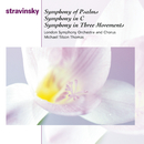 Symphony Of Psalms; Symphony In C; Symphony In Three Movements/Michael Tilson Thomas