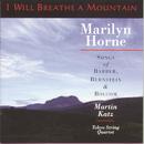 I Will Breathe A Mountain/Marilyn Horne