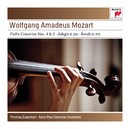 Mozart: Violin Concertos No. 4 K218 & No. 5 K.219; Adagio K261; Rondo K373 - Sony Classical Masters/Pinchas Zukerman
