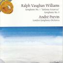 "Vaughan Williams: Symphony No. 7 ""Sinfonia Antartica"" / Symphony No. 8/André Previn"