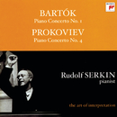 "Bartok: Piano Concerto No. 1; Prokofiev: Piano Concerto No. 4 ""For the Left Hand"" [Rudolf Serkin - The Art of Interpretation]/Rudolf Serkin, Columbia Symphony Orchestra, Philadelphia Orchestra, George Szell, Eugene Ormandy"