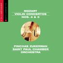 Mozart: Violin Concertos Nos. 4 & 5, Adagio, K. 261 & Rondo, K. 373/Pinchas Zukerman, The Saint Paul Chamber Orchestra
