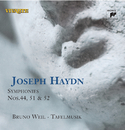Haydn: Symphonies Nos. 44, 51 & 52/Bruno Weil