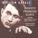 William Kapell Edition, Vol. 7: Rachmaninoff: Cello Sonata in G Minor, Op. 19 - Brahms: Sonata in F Minor, Op. 120 No.1 & Violin Sonata No.3 in D Minor, Op. 108/William Kapell