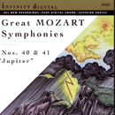 "Great Mozart Symphonies: No. 40; No. 41 ""Jupiter""/Alexander Titov, St. Petersburg Festival Orchestra, Orchestra ""New Philharmony"" St. Petersburg"