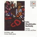 Mendelssohn-Bartholdy: Duo Sonatas For Cello And Piano/Emil Klein