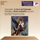 Prokofiev: Romeo and Juliet (Excerpts) Stravinsky: The Rite of Spring/Zubin Mehta, Dimitri Mitropoulos