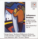 Brahms: Cto. For Violin + Cello Op.102/Piano Quartet No.1/Cristian Mandeal