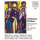 Brahms: Clarinet Quintet op.115/Piano Quintet op.34/Alfredo Perl
