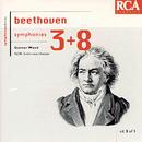Beethoven: Symphonies 3 & 8/Günter Wand