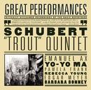 Schubert: Trout Quintet; Arpeggione Sonata; Die Forelle/Barbara Bonney, Emanuel Ax, Yo-Yo Ma, Rebecca Young, Edgar Meyer, Pamela Frank