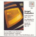 Prokofiev: Violin Ctos. No. 1 + No. 2 / Sonata For Violin Solo/Samuel Friedmann