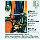 Ginastera/Villa-Lobos/Copland: Harp/Harmonica/Clarinet Cto./Adrian Leaper