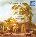 40 Years DHM - Telemann: Three Secular Cantatas/Collegium Aureum