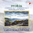 "Dvorák:  Symphonies Nos. 7 & 9 ""From the New World""/Carlo Maria Giulini"