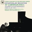 Sviatoslav Richter Plays Beethoven and Schumann - Live at Carnegie Hall (October 28, 1960)/Sviatoslav Richter