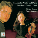 Debussy/Franck/Saint-Saens: Violin Sonatas/Mirijam Contzen