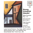 Händel: Oboe Concertos/Ross Pople