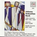 J. S. Bach: Violin Concertos/Double Cto./Jürgen Geise